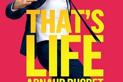 Arnaud Ducret Dans That'S Life à Saint Thibault des Vignes