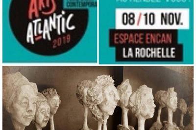 Art Atlantic avec la participation d'Astrid Laviéville à La Rochelle