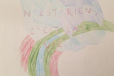 Art contemporain. Exposition Tout cela n'est rien, c'est la vie, du duo d'artistes Mobilier Peint, à 40mcube. à Rennes
