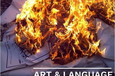 Art & Language : Reality (dark) Fragments (dark) à Montsoreau