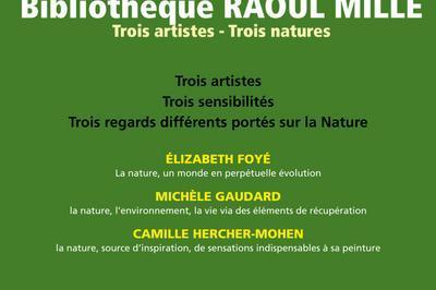 3 Artistes   3 Natures à Nice
