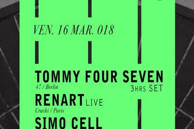Astroclub: Tommy Four Seven, Renart Live, Simo Cell, Luisetti à Brest