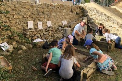 Atelier Archéologique à Jouarre