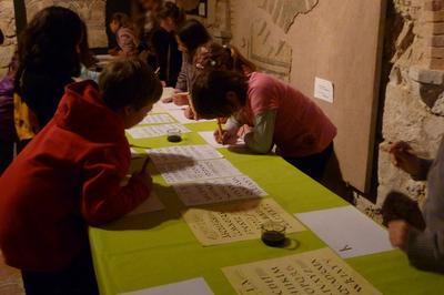 Atelier Calligraphie Pour Les Enfants Et Les Adultes à Lectoure
