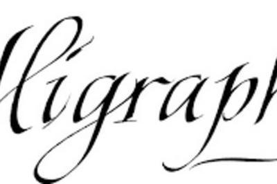 Atelier Calligraphie Pour Tous à Frejus
