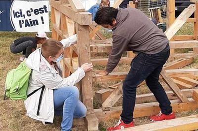 Atelier Charpente à Saint Cyr sur Menthon