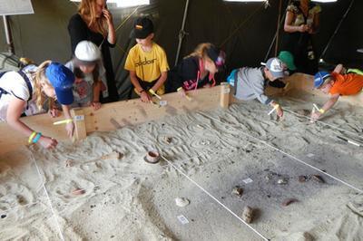 Atelier Comme Un Archéologue à Saint Vaast la Hougue