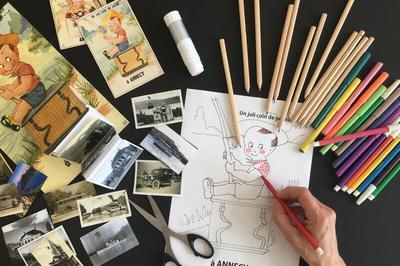 Atelier : Création D'une Carte Postale Animée à Annecy
