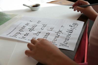 Atelier D'écritures Anciennes Aux Archives Du Doubs à Besancon
