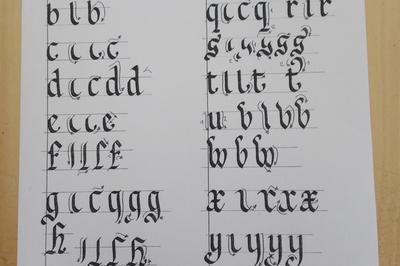 Atelier D'initiation à La Calligraphie à Cabestany