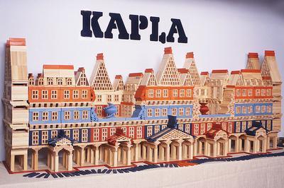 Atelier De Construction Kapla à La Ferte saint Aubin