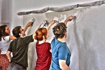 Atelier De Démonstration Autour De La Fresque à Troyes