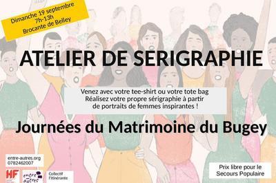 Atelier De Sérigraphie Du Matrimoine à Belley