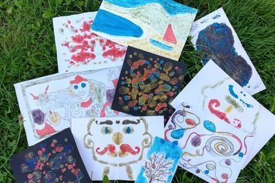 Atelier Dessins De Sable Pour Les Enfants à Vicq sur Breuilh