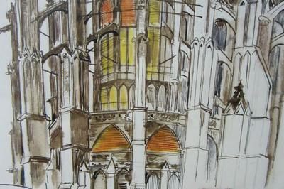 Atelier Dessins Un Autre Regard Sur La Cathédrale à Beauvais