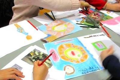 Atelier  Enfant Partageons Notre Art à Saint Quentin