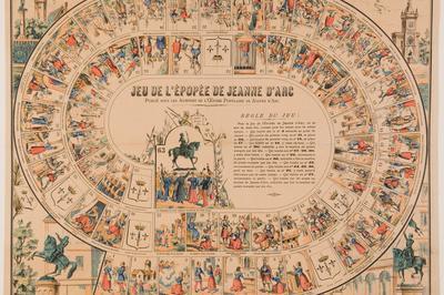 Atelier Jeux Autour De Jeanne D'arc Et Le Moyen Âge (6-12 Ans) à Orléans