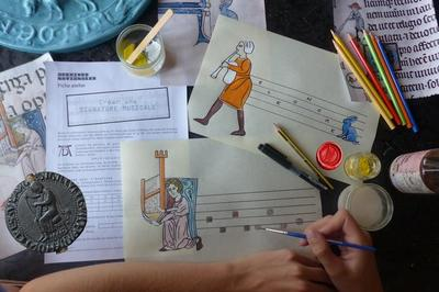 Atelier Lettrines Musicales à Paris 4ème