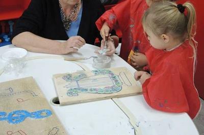 Atelier Mosaïque Et Visites Pour Enfants à Courrieres
