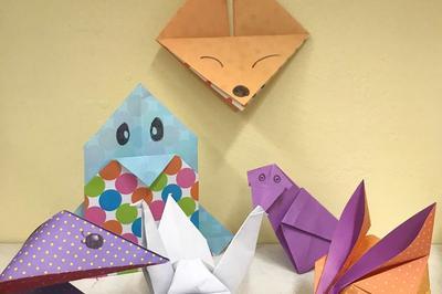 Atelier Participatif De Création D'origamis à Chalons en Champagne