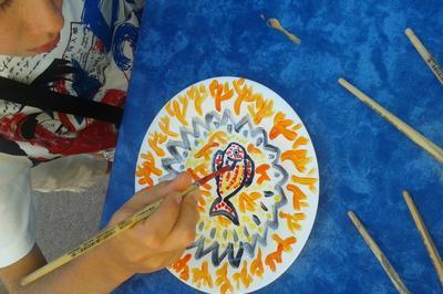 Atelier Pour Enfants De 4 à 12 Ans : Décor D'assiette à Vallauris