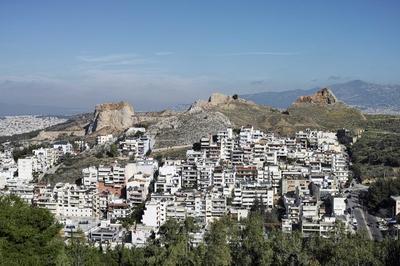Athènes : Dense, Jardinée, Spontanée à Marseille