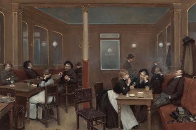 Au Café Maupassant à Marseille