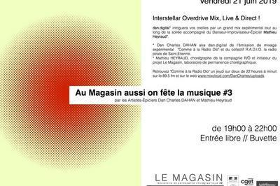 Au Magasin Aussi On Fête La Musique  à Saint Etienne
