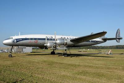 Avion Lockheed L1049 G Super Constellation F-bgnj De 1953 à Saint Aignan Grandlieu