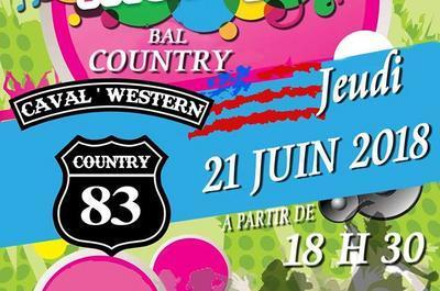 Bal Country (Fête de la Musique 2018) à Cavalaire sur Mer