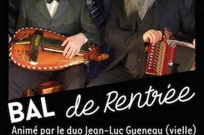 Bal  De Rentree Avec Le Duo Poutoux Gueneau à Ris Orangis