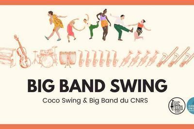 Bal Swing : Big Band CNRS et Coco Swing Mareille à Marseille
