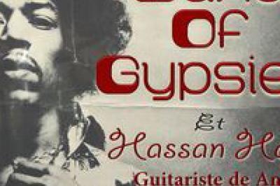 Band Of Gypsies  Tribute Jimi Hendrix  Avec Hassan Hajdi à Terville