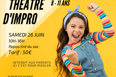 Baptême Théâtre d'Impro à Strasbourg