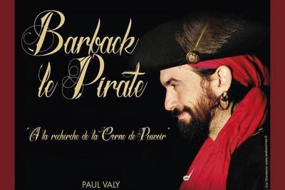 Barback le Pirate à Lyon