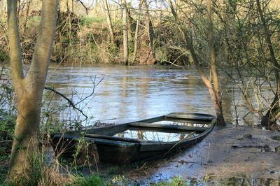 Barques Et Reflets à Descartes