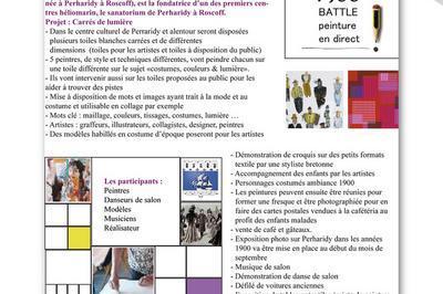 Exposition Battle De Peinture En Direct Costumes, Couleurs ...