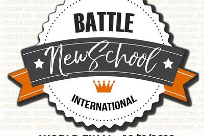 Battle New School #15 World Final2018 à Quimper