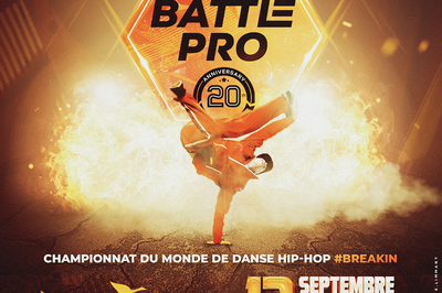 Battle Pro World Final 20th Anniversary à Paris 12ème