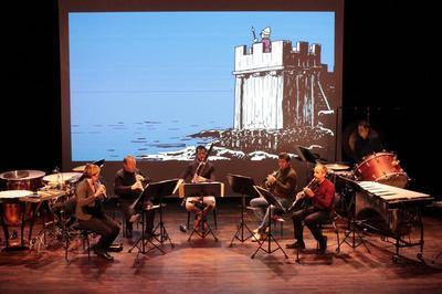 BD concert : Histoires de la Normandie Illustrées à Colleville Montgomery