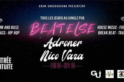 Beat Else / Hip Hop To Dnb / Djs Adroner & Nico Vaza à Montpellier