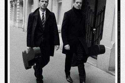 Benjamin Biolay & Melvil Poupaud à Paris 9ème