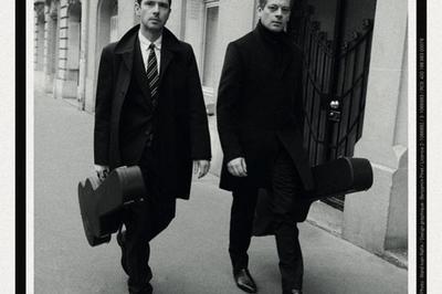 Benjamin Biolay & Melvil Poupaud à Marseille