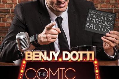 Benjy Dotti Dans The Late Comic Show à Rocamadour