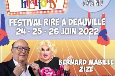 Bernard Mabille & Zize à Deauville