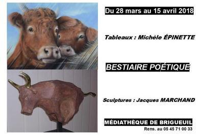 Bestiaire poétique à Brigueuil