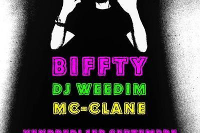 Biffty/DJ Weedim/Mc-Clane à Nantes