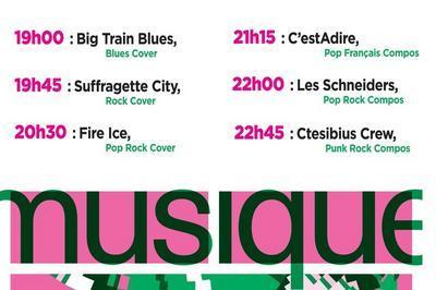 Big Train Blues / Suffragette City / Fire Ice / C'estadire / Les Schneiders / Ctesibius Crew à Beynes