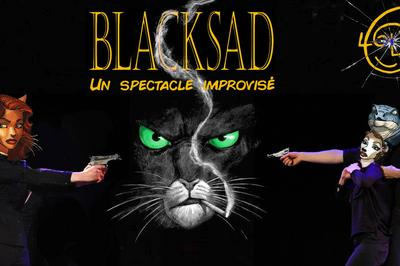 Blacksad : un spectacle improvisé à Strasbourg