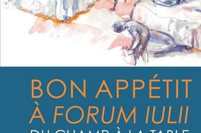 Bon Appétit à Forum Iulii  Du Champ à La Table D'après Les Fouilles Archéologiques Menées à Fréjus à Frejus